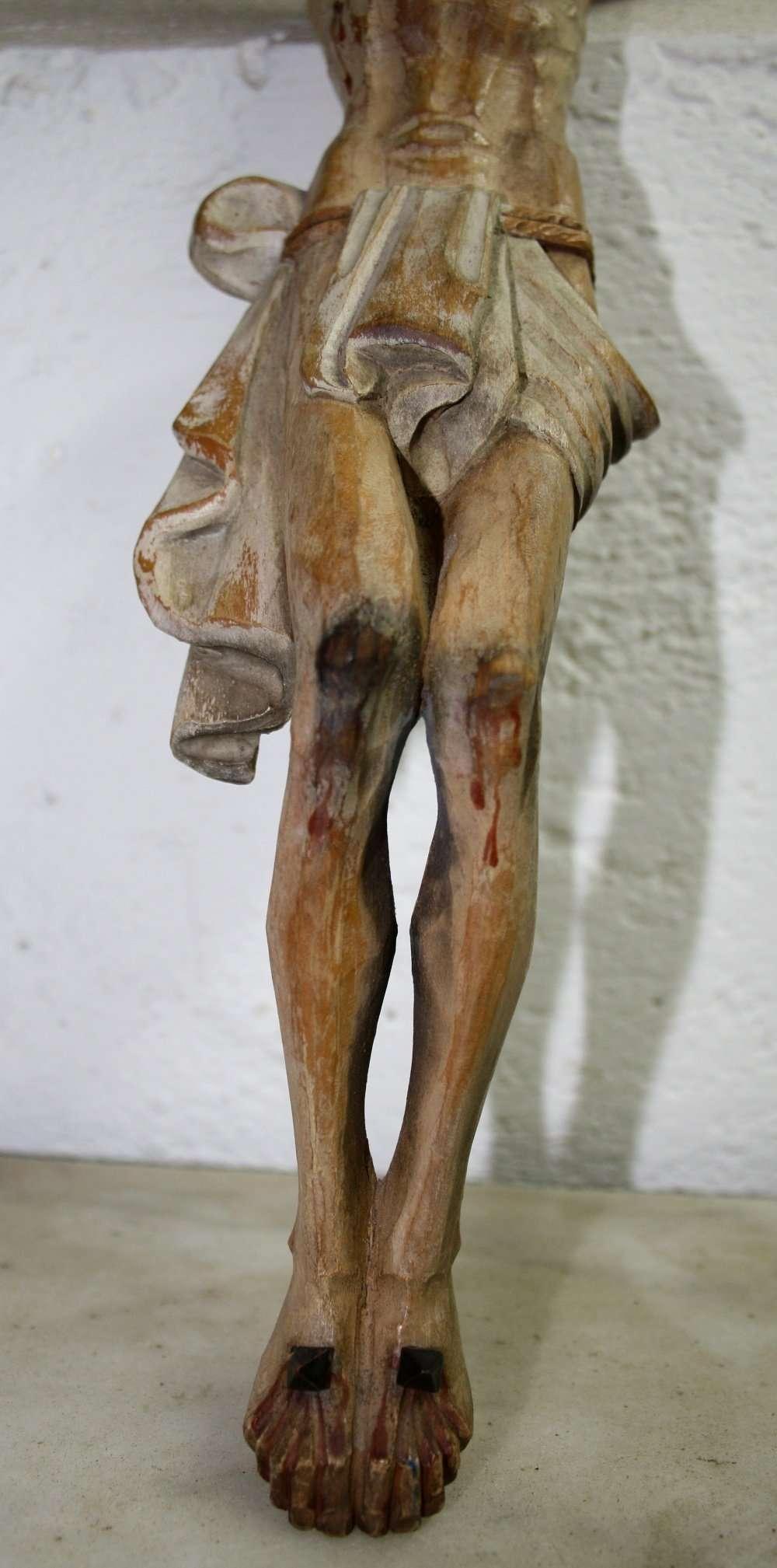 Sculpture Christ crucified