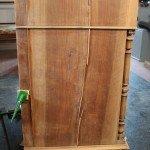Restoration walnut drawer dresser