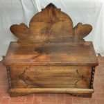 Chest hanger chestnut wood restoration