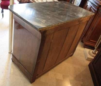 Walnut dresser chest drawers Charles X