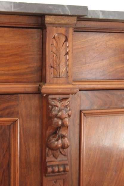 niedriges nussbaum sideboard