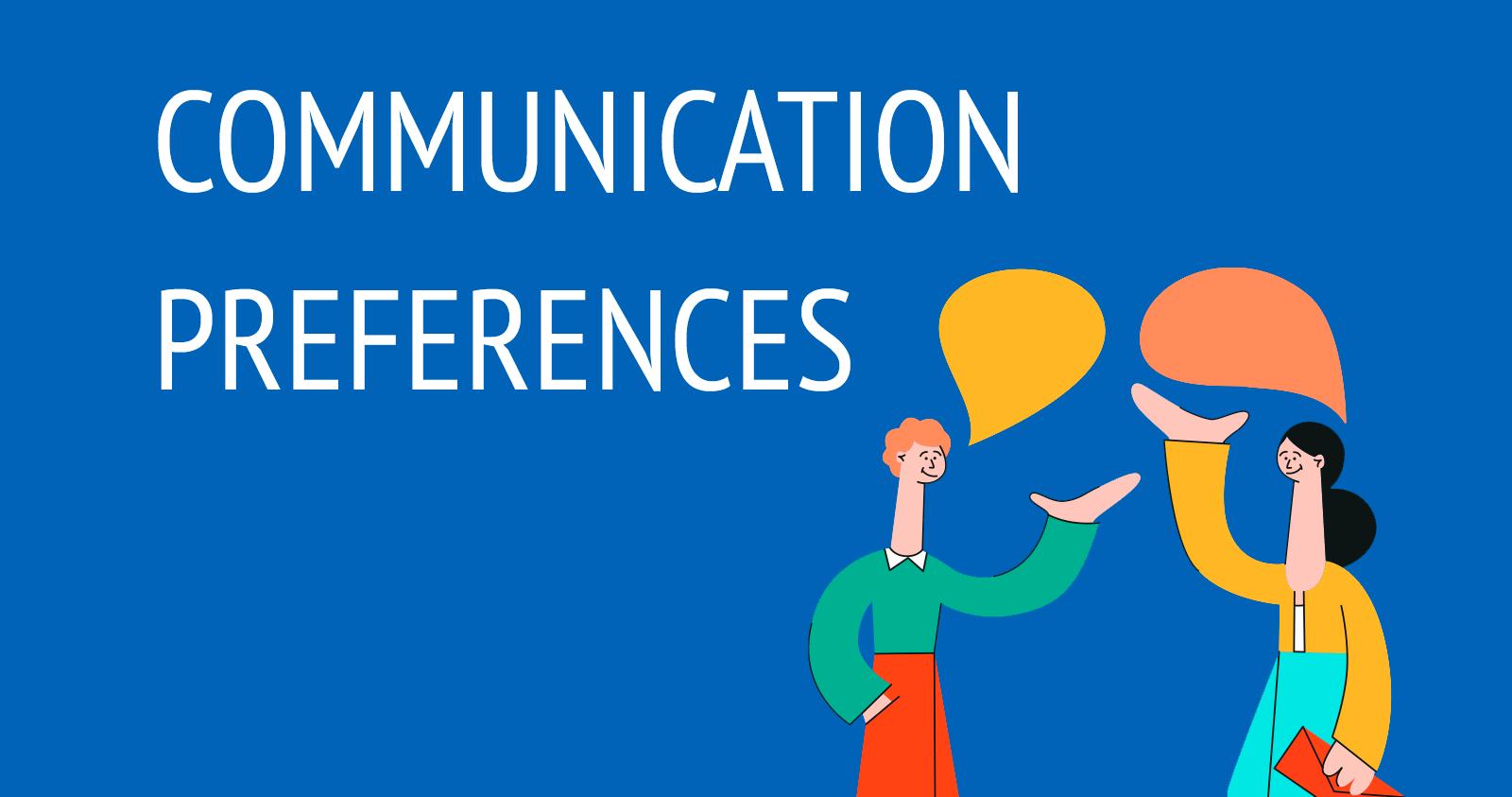 Kommunikationseinstellungen