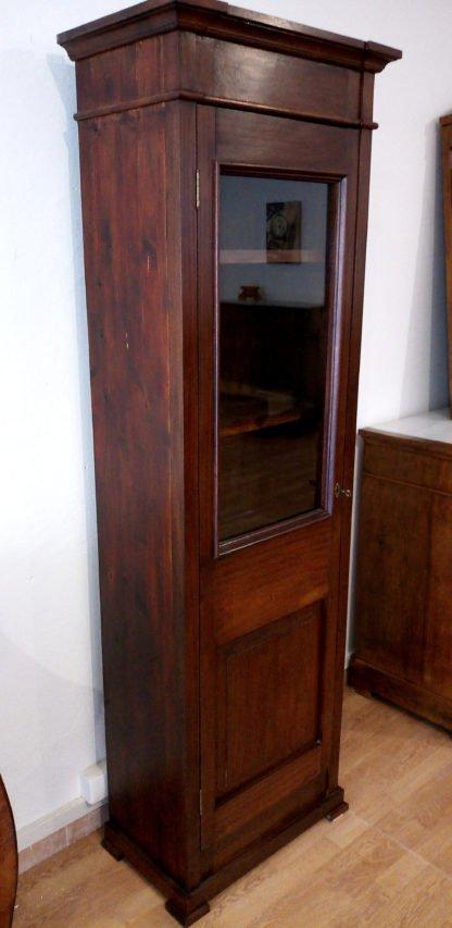 Klassisches Schaufensterregal aus italienischem Mahagoni